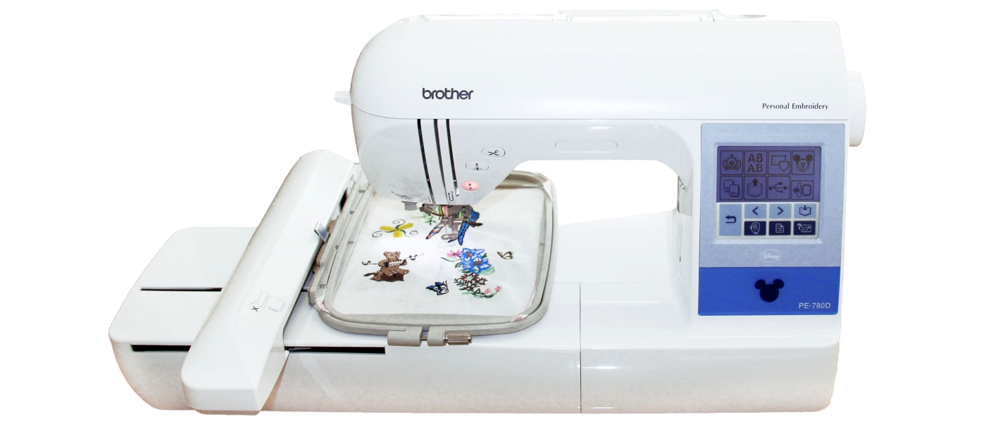 Brother PE780D. Bordadora Cama Plana